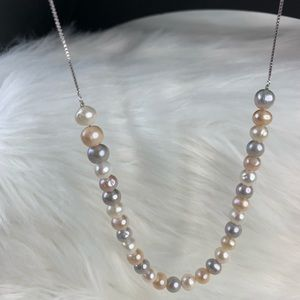 Jewelry - Freshwater pearl with multi color